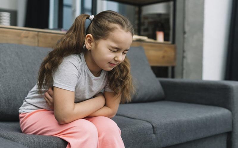 ترش کردن معده کودکان